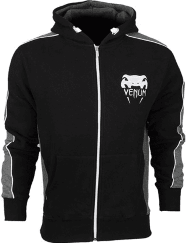 "Толстовка Venum ""Elite"" Hoody  - Black"