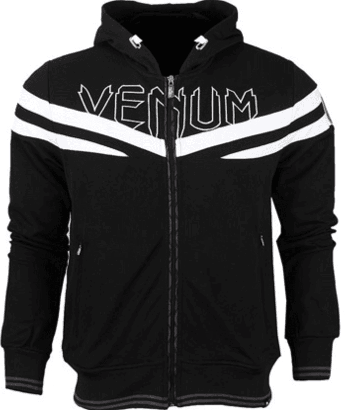 "Толстовка Venum ""Sharp"" Hoody  - Black"