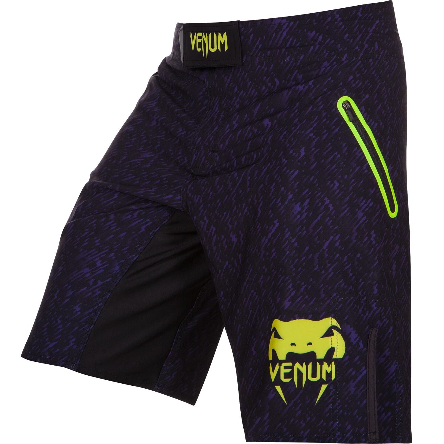 Шорты ММА Venum Noise Black/Yellow