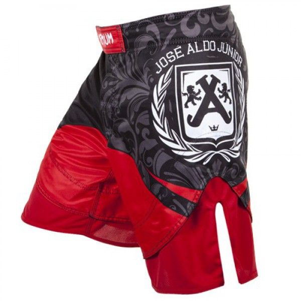 "Шорты ММА Venum ""Jose Aldo Junior Signature"" UFC 156 Fightshorts - Black"