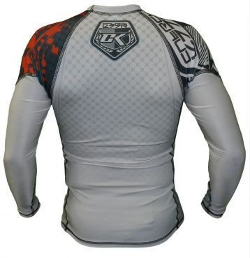 Рашгард Contract Killer Stained White Rashguard longsleeve