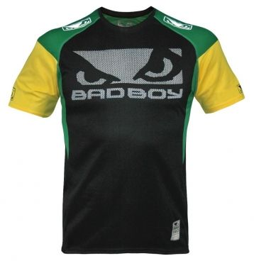 Футболка Bad Boy Performance Walk In Tee Black/Green/Yellow