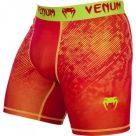 "Компрессионные шорты Venum ""Fusion"" Compression Shorts - Orange Yellow"