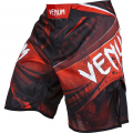 "Шорты ММА Venum ""Galactic"" Fightshorts Black/Red"