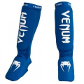 "Щитки Venum ""Kontact"" Shinguards and Instep Blue"