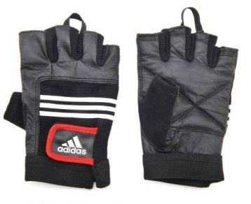 Перчатки для фитнеса ADIDAS Leather Lifting Gloves