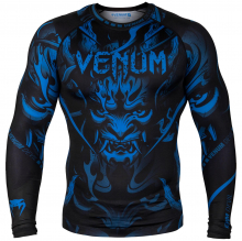 Рашгард Venum Devil Navy Blue/Black L/S