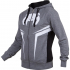 Толстовка Venum Shockwave 3 Hoody - Lite Series - All seasons Heather Grey