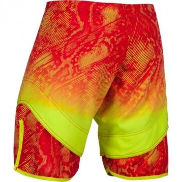 "Шорты ММА Venum ""Fusion"" Fightshorts - Orange Yellow"