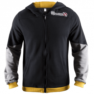 Олимпийка Hayabusa Wingback Hoodie Black/Grey/Yellow
