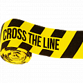 Боксерские бинты Hardcore Training Cross The Line Yellow/Black 3.5