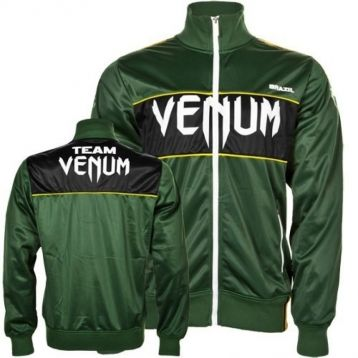 "Олимпийка Venum ""Team Brazil"" Polyester Jacket Green"